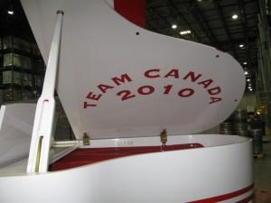 Team Canada 2010 Grand Piano